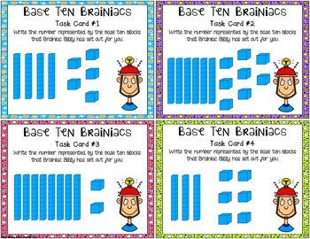 numbers in base ten place value task cards common core differentiated. Black Bedroom Furniture Sets. Home Design Ideas