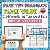 Numbers in Base Ten Place Value Task Cards { Common Core &