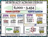 Numbers & Operation in Base Ten: Subtracting Across Zeros