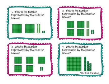 Numbers in Base Ten Task Cards!