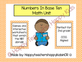 Numbers in Base Ten Unit