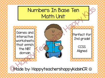 Numbers in Base Ten Unit