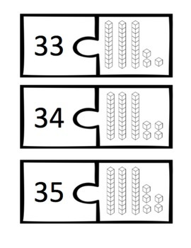 Numbers in Different Forms - Matching Activities