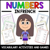 Numbers Activities and Game in French - Numéros en Français