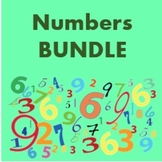 Zahlen (Numbers in German) Bundle