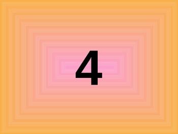 Numbers in Kindergarten Word, Count and Number