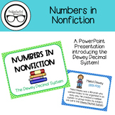 Numbers in Nonfiction Dewey Lesson