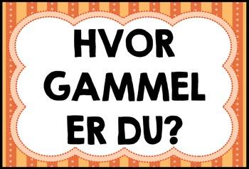 Numbers in Norwegian (flashcards & worksheets)