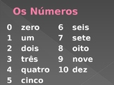 Números (Numbers in Portuguese) PowerPoint