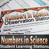 Numbers in Science Student Blended Learning Stations