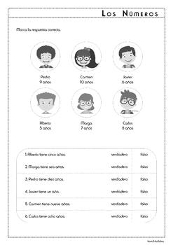 Numbers in Spanish - BUNDLE - Los Números 1-100