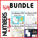 Numbers in Spanish - BUNDLE - Los Números 1-100