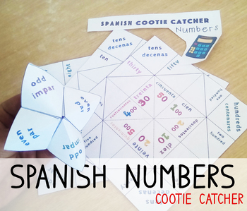 Numbers in Spanish Activity