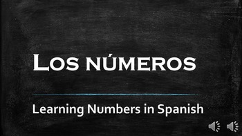 Numbers in Spanish - Los Numeros
