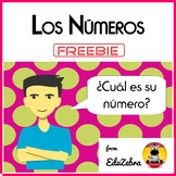 Numbers in Spanish - Los números  - Speaking Activities