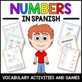 Numbers Activities and Game in Spanish - Los Números en Español