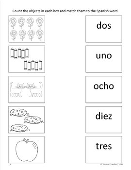 Numbers Activities and Game in Spanish - Los Números en Español | TpT