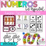Numbers in spanish/ Números en español