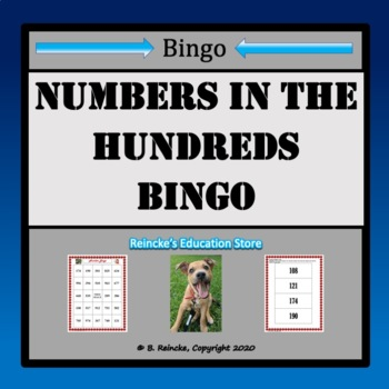 Numbers in the Hundreds Bingo (30 pre-made boards!)