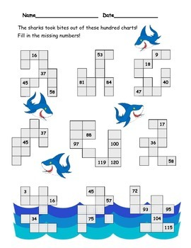 Numbers in the Ocean!
