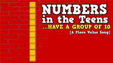 Numbers in the Teens [Have a Group of 10] (video)
