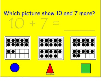 Numbers in the Teens & Measurement review