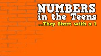 Numbers in the Teens [They Start with a 1!] (video)