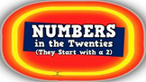 Numbers in the Twenties [They Start with a 2!] (video)