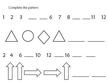 Numbers: odd/even numbers and patterns