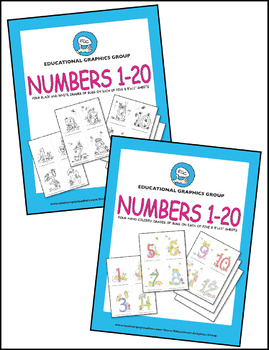 "Numbers of Bugs - 4.25"" x 5.5"" ♥ BUNDLE ♥"