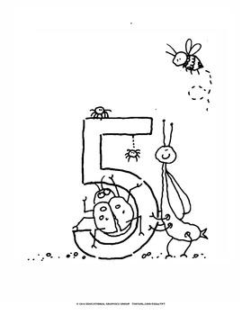 "Numbers of Bugs - 8.5"" x 11"" BUNDLE"