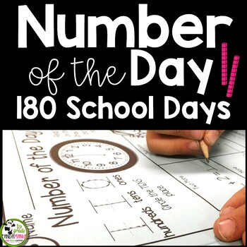 Numbers of the Day BUNDLE for the Year! Numbers 1-180!