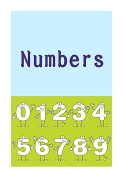 Numbers practice worksheets for kids