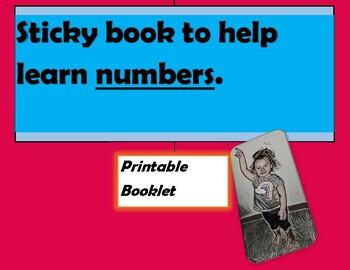 Numbers printable booklet