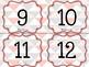 Numbers printable clip cards - Cartes de nombres à imprimer