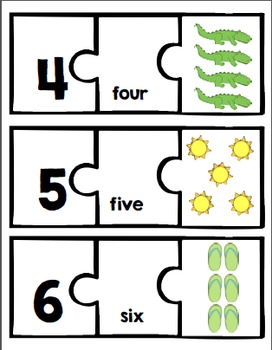 Numbers puzzles 1 to 20 {math center}