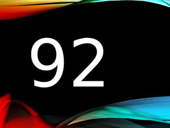 Numbers Numeros random 1 to 100