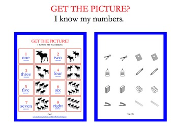 Numbers recognition game (GET THE PICTURE?)