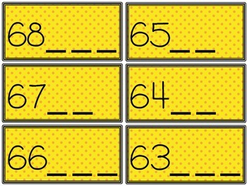 Numbers that Stick Together - Counting on from a Given Number