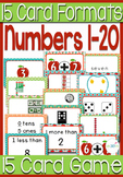 15 Apple Themed Card Games with 15 Different Card Formats For Numbers 0-20