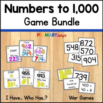 Numbers to 1,000 Game Bundle