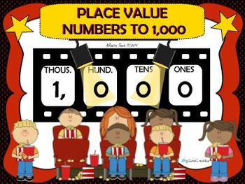 Place Value-Numbers to 1,000 SmartBoard Unit