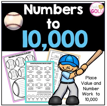 Numbers to 10,000 Activity Pack