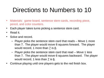 Numbers to 10!!!