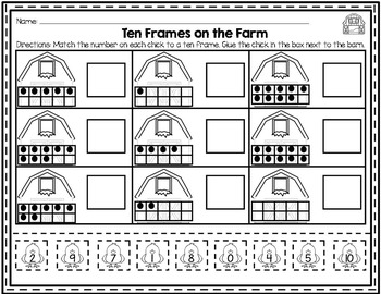 Numbers to 10 Printables