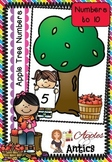 Numbers to 10 - Apple Tree Number Mats