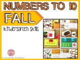 Numbers to 10- Fall Centers