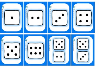 Penguin Pairs Numbers to 10 subitizing games