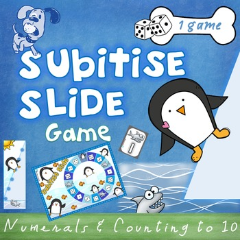 Subitise Slide Numbers to 10 Game