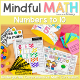 Numbers to 10 - Kindergarten Mindful Math